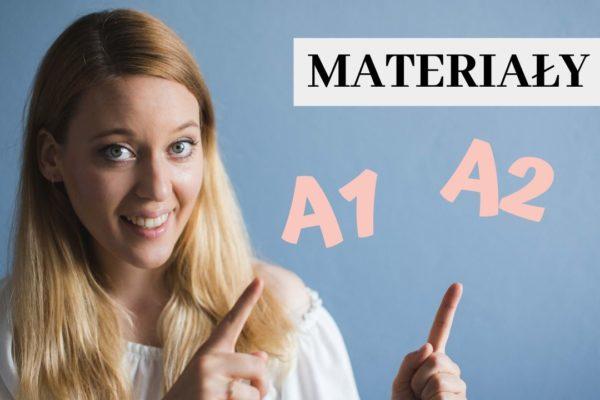 Materiały do samodzielnej nauki na poziomie A1 i A2